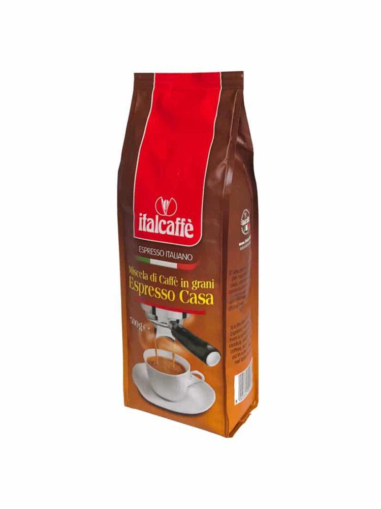 Kaffeebohnen Espresso Kaffee ganze Bohnen Bohnenkaffee Röstkaffee Bohne Italcaffè Espresso Casa 500g bella crema