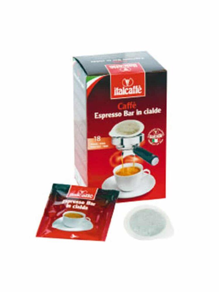 12x18 Espresso Bar ESE Kaffeepads. Dispenser von 7 gr.r.-0