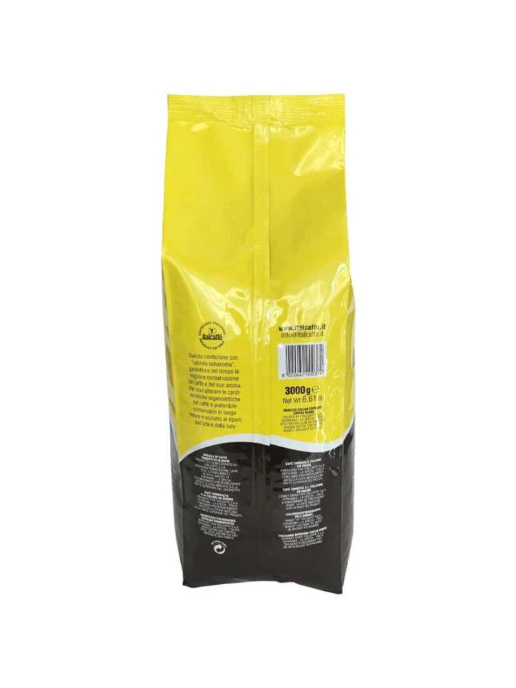 Caffè in grani Italcaffè Bar Espresso 3Kg Back
