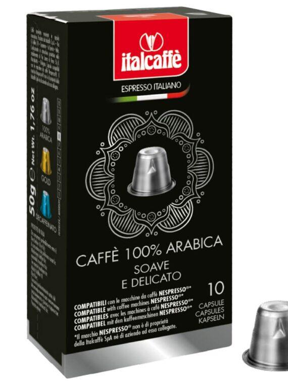 Capsule caffè Arabica compatibili con Nespresso®
