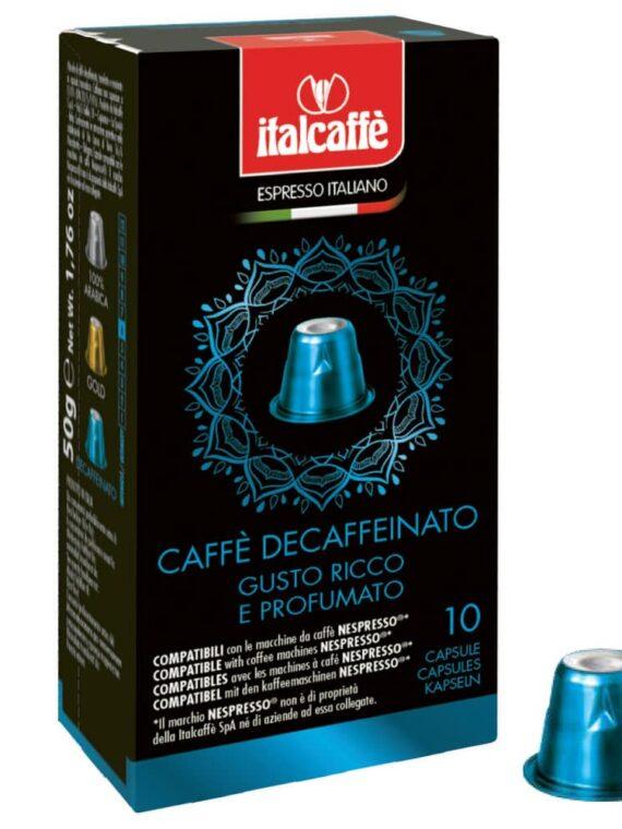 Capsule caffè Decaffeinato compatibili con Nespresso®