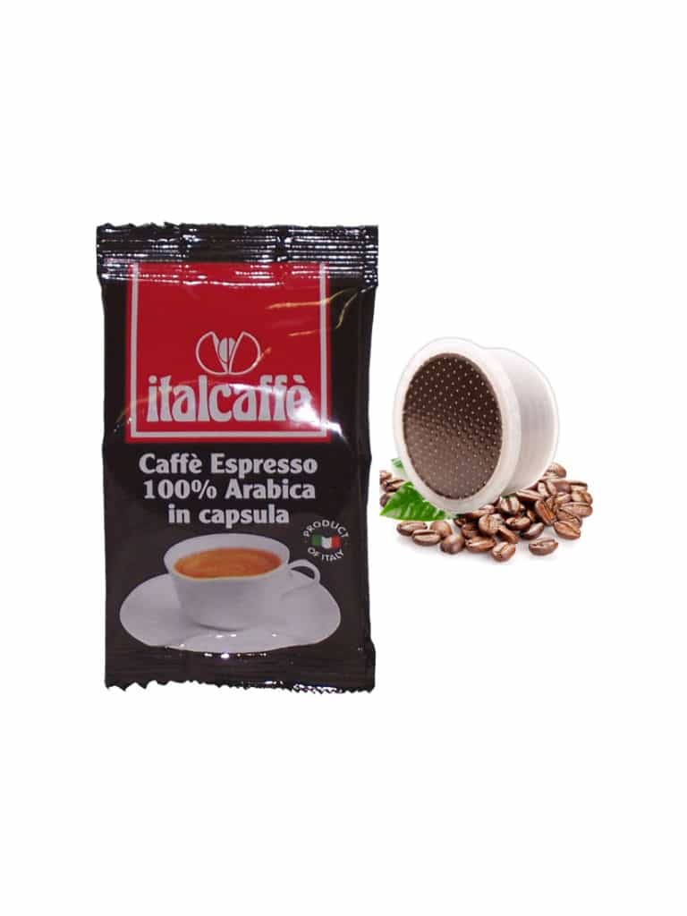 Lavazza Espresso Point Kapseln kompatibel Italcaffè Espresso 100% Arabica kaffee 100 Kaffeekapseln cialde cialda cremoso crema aroma intenso aromatico pad pads