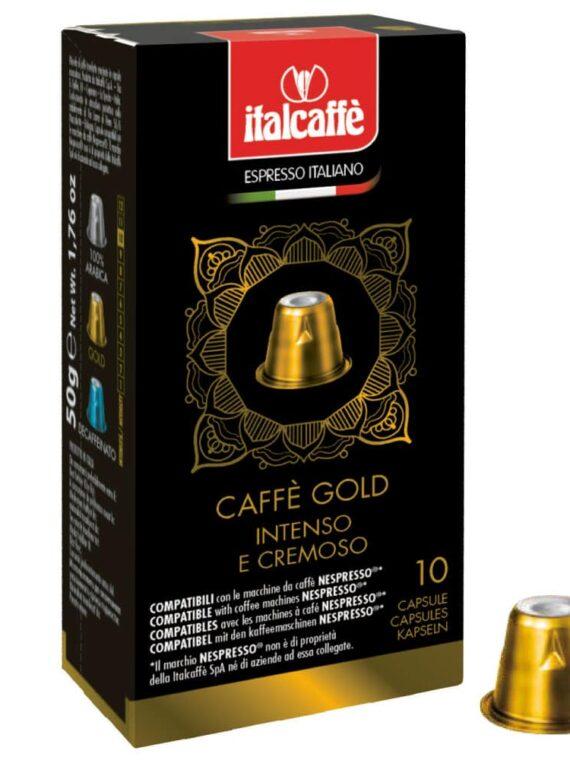 Capsule caffè Gold compatibili con Nespresso®