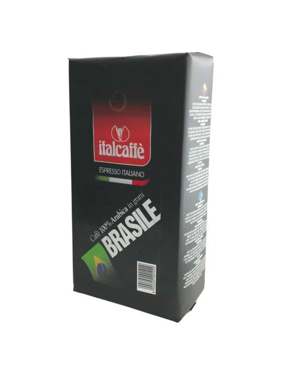 Italcaffe 100% Arabica Kaffeebohnen Brasilien Santos 1kg Bohnenkaffee Kaffee ganze Bohnen