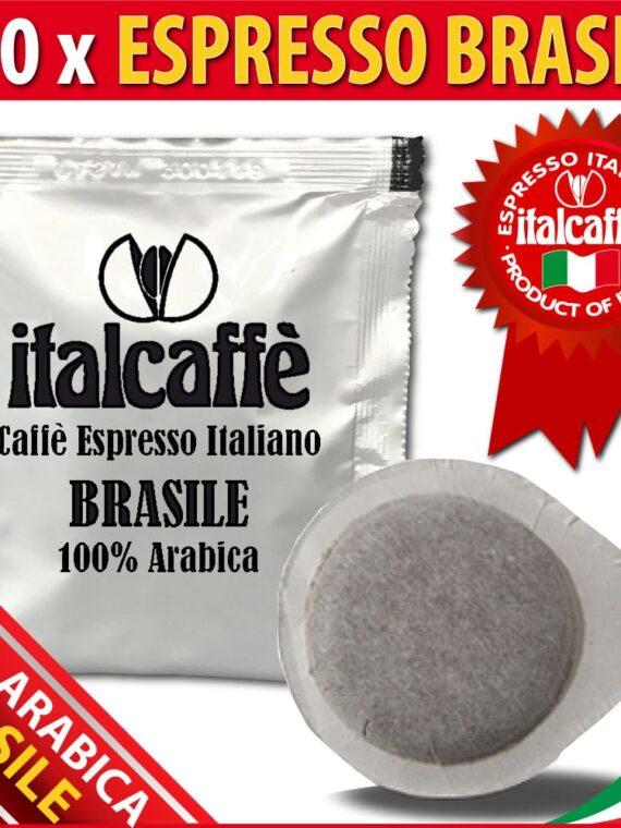 150 ESE®* Kaffeepads Italcaffè Espresso Brasilien Santos 44mm-0