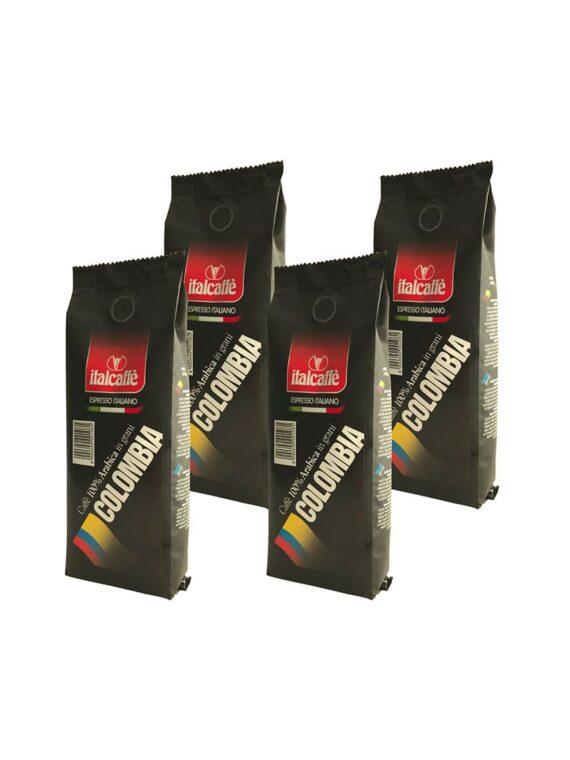 Italcaffè Colombia Supremo Espresso Coffee Beans 100% Arabica 4x250g-0