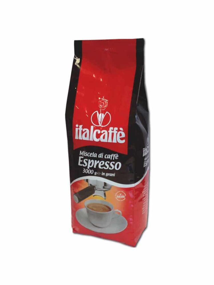 Italcaffè Espresso Kaffeebohnen 3 Kg - Kaffee ganze Bohnen-0