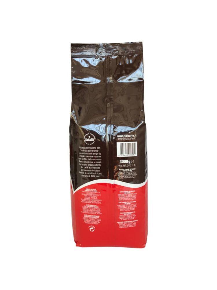 Italcaffè Espresso Kaffeebohnen 3 Kg - Kaffee ganze Bohnen-507