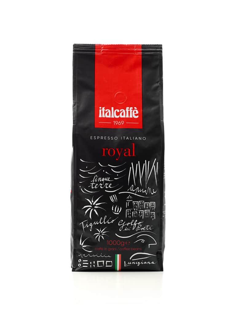 Caffè espresso in grani Royal 1 kg