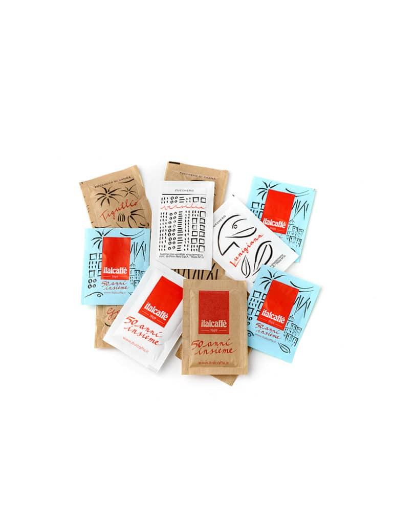 Bustine di Zucchero per caffè espresso Italcaffè