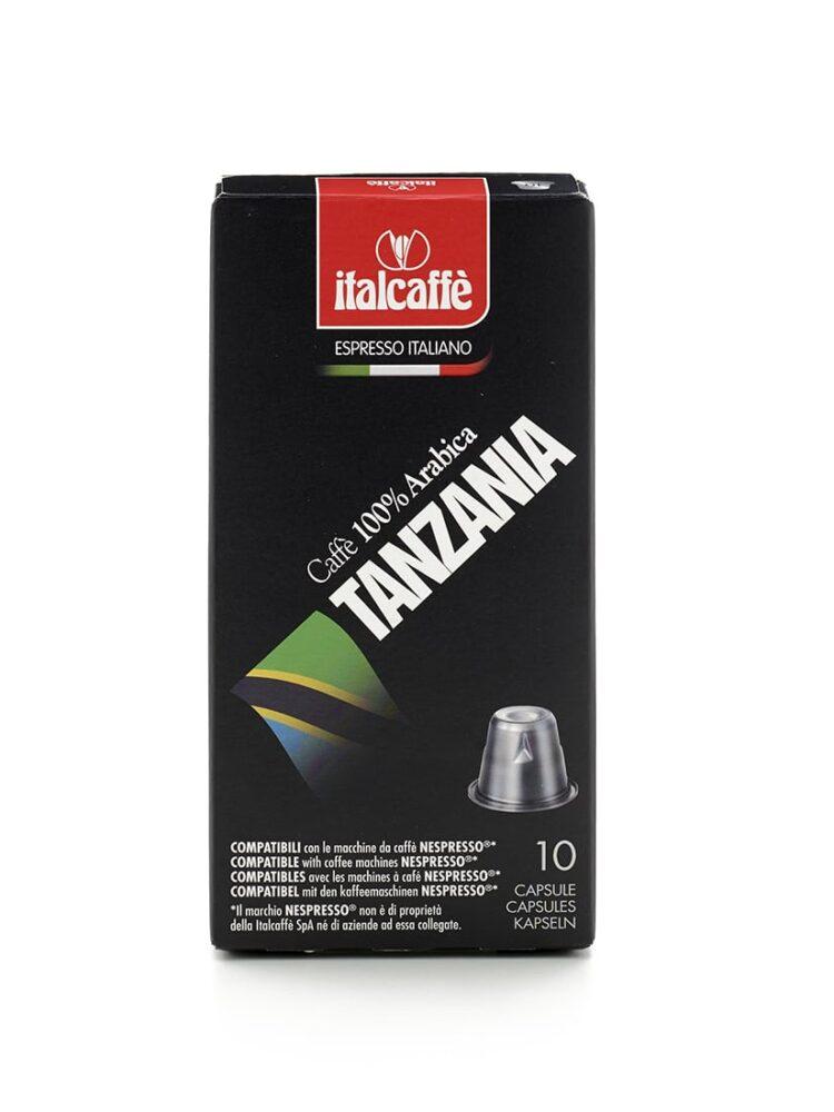 Capsule caffè Tanzania compatibili con Nespresso Italcaffè Espresso