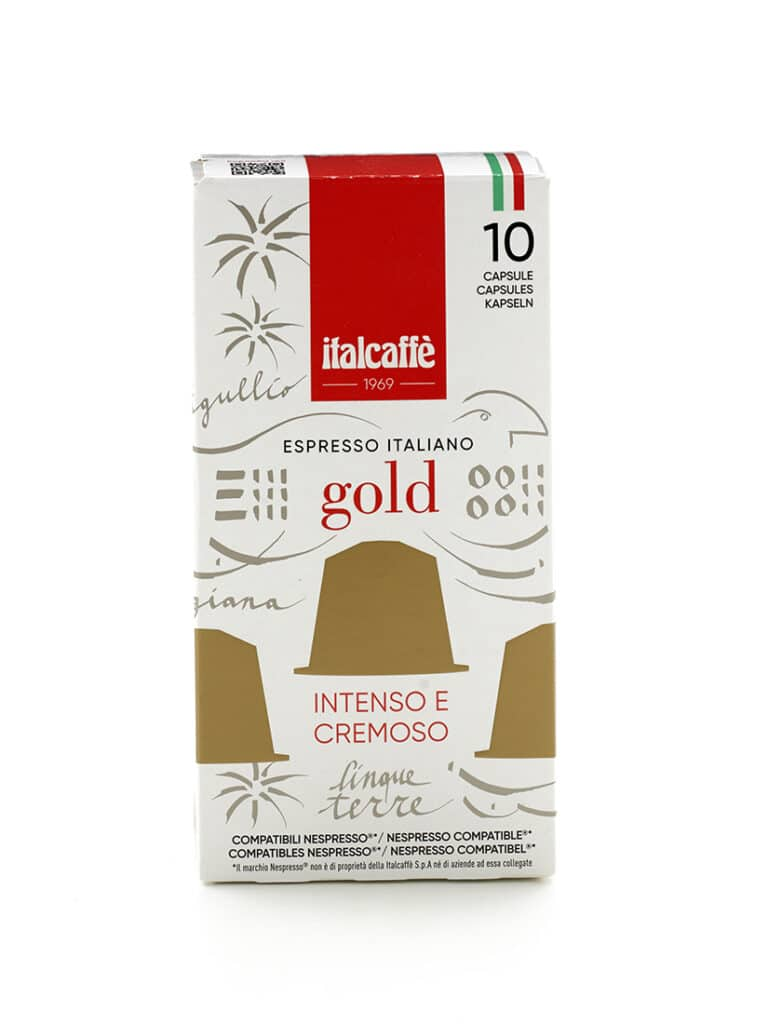 Capsule caffè espresso Gold Italcaffè compatbili Nespresso