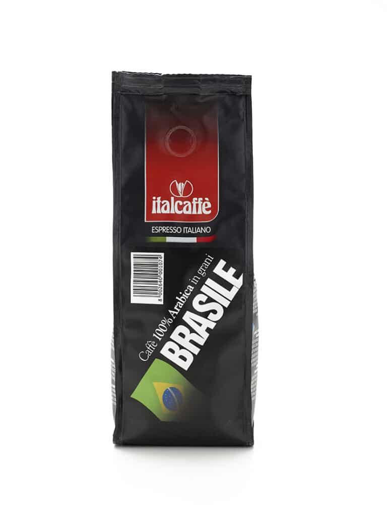 Caffè in grani arabica Brasile Santos 250 g