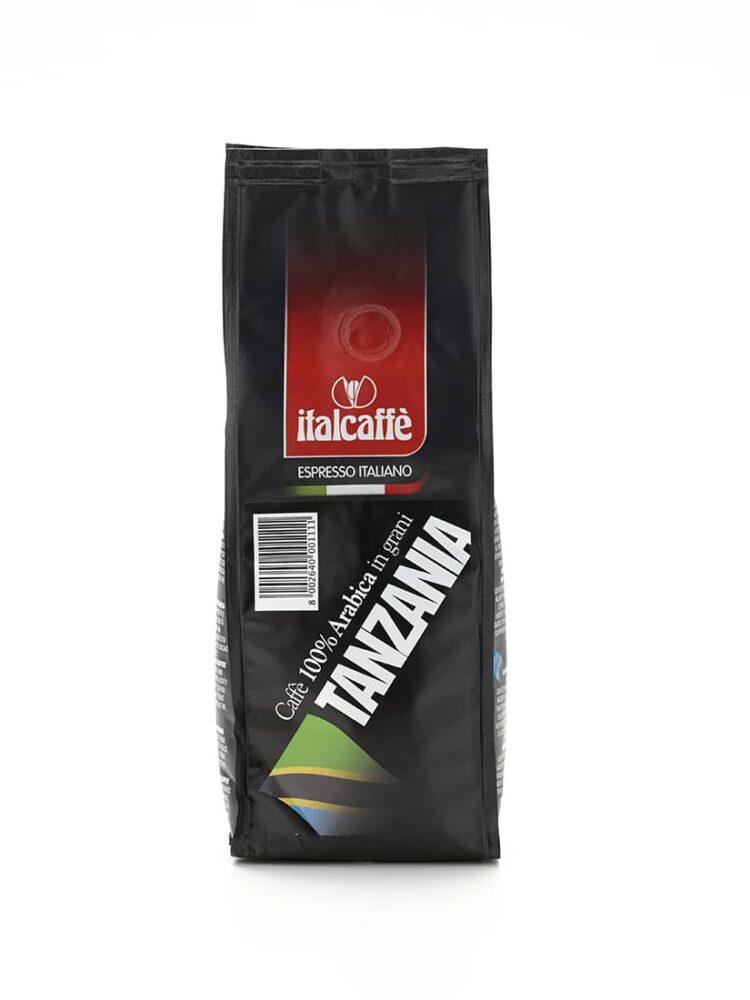 Café en Grains 100% Arabica Tanzanie Italcaffè Espresso 250g | Expresso Italien