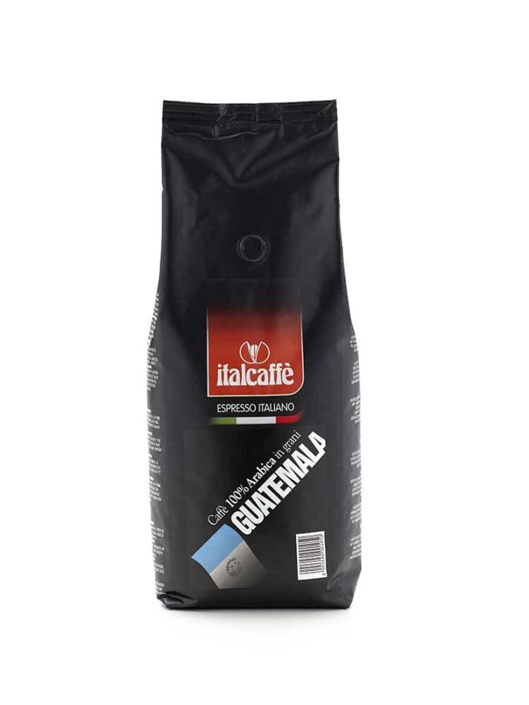 Guatemala single origin Espresso Arabica coffee beans 1 kg Italcaffè