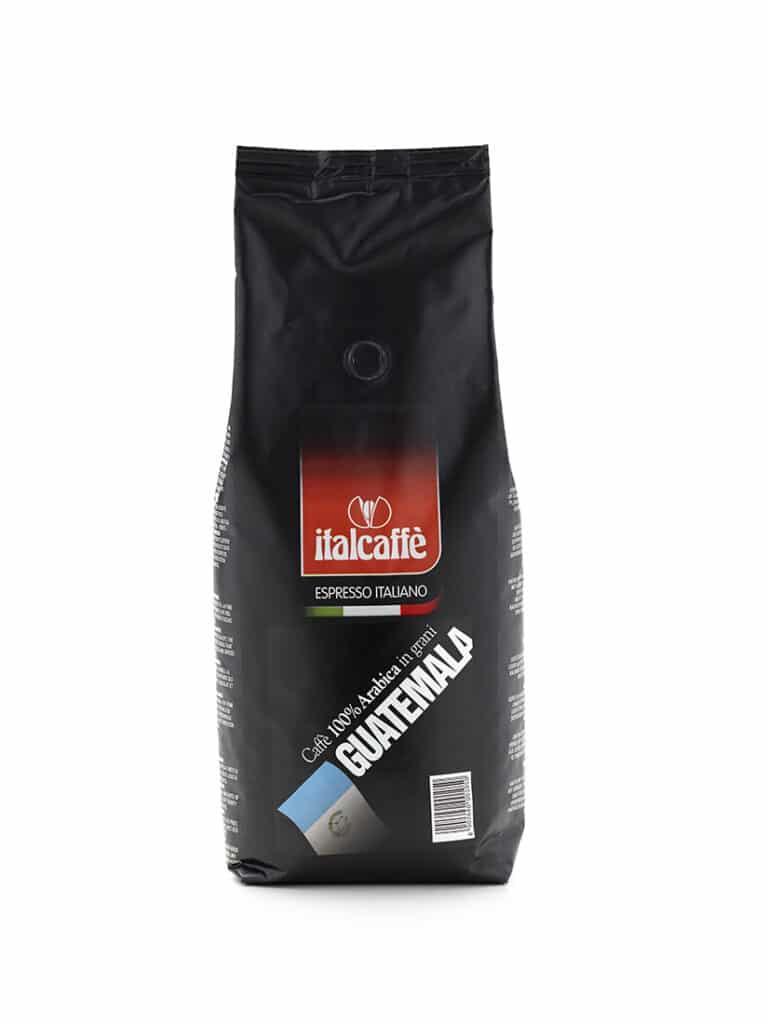 Caffè in grani arabica Guatemala 1 kg Espresso Italiano fronte