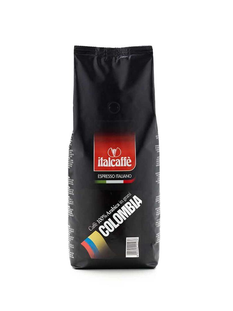 Caffè in grani arabica Colombia 1 kg Espresso Italiano fronte