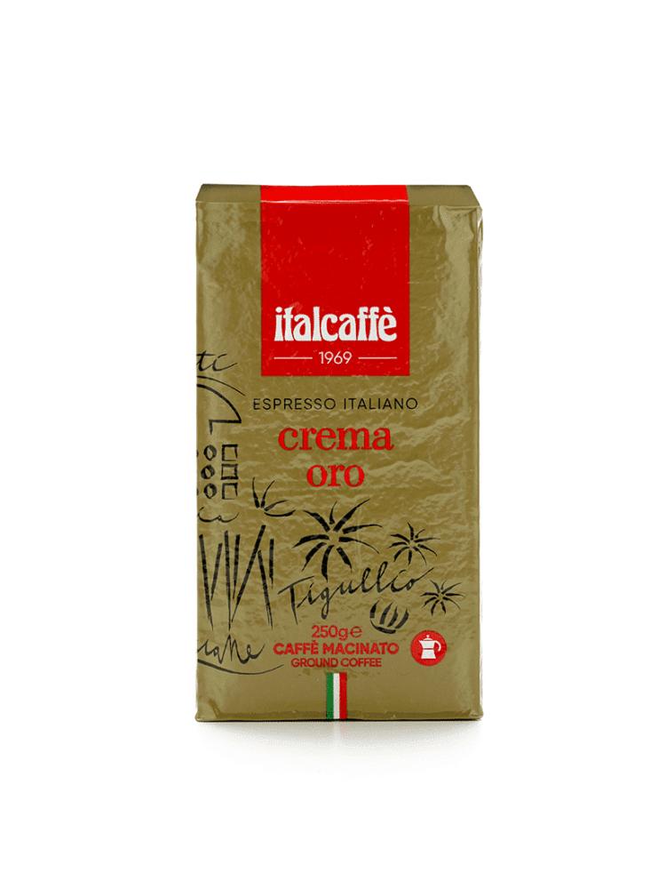 Caffè Macinato Crema Oro Italcaffè 250g macinatura per Moka