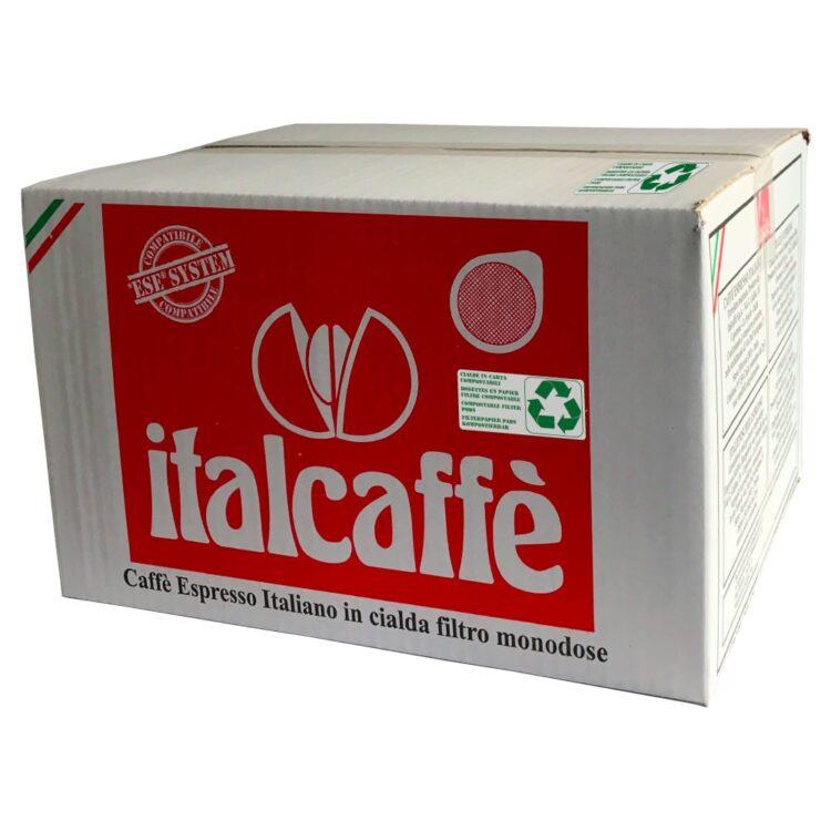 150 Cialde Caffè Italcaffè Espresso Bar 44 mm ESE compatibili.